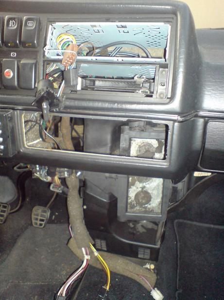 [Golf 2] Réparation Chauffage (air toujours tiede) DSC00393