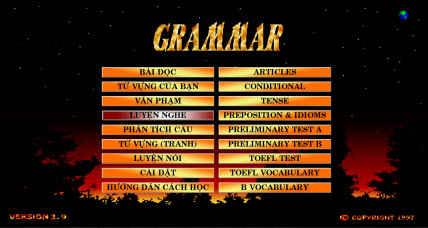Grammar - phần mềm học Anh văn của người Việt mình làm 235961_orig