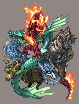 Solamente Impresionantes Dragones 20080226004919-elemental-dragons-color-by-udoncrew