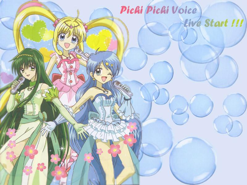 Mermaid Melody Wall_pichi_800