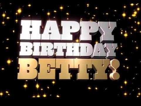 """****  Aujourd'hui c'est l' Anniversaire de notre  chère  """"Betty""""  **** Betty_Card_online"""