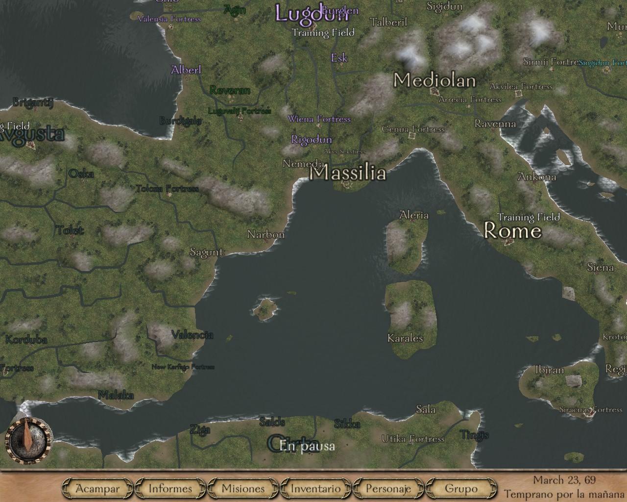 [SP][ES] Imperial Rome PsqdR