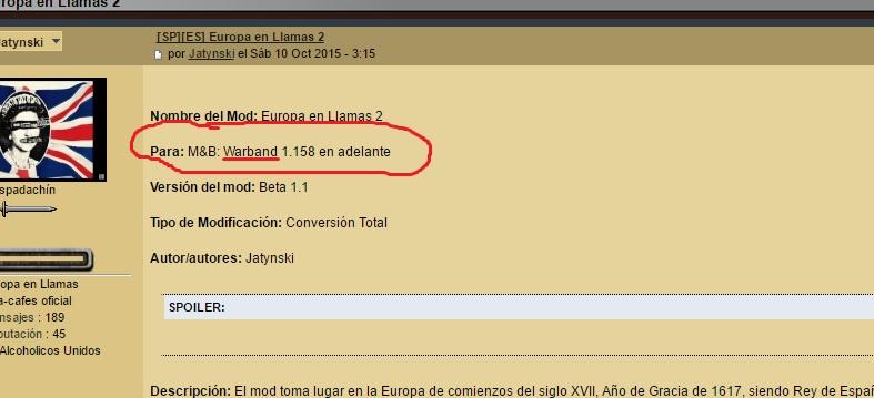 Europa en Llamas ya disponible en español SCdpV