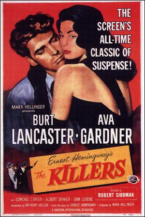 El CINE NEGRO: GANSTERS Y MUJERES FATALES Killers-psoter-a