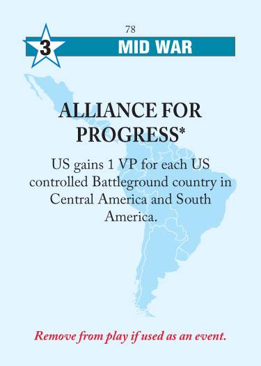 Twilight Struggle card for today Alliance-for-progress