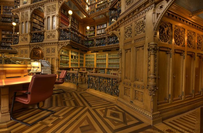 Najlepše biblioteke na svetu Parliament-library-of-canada-in-ottawa