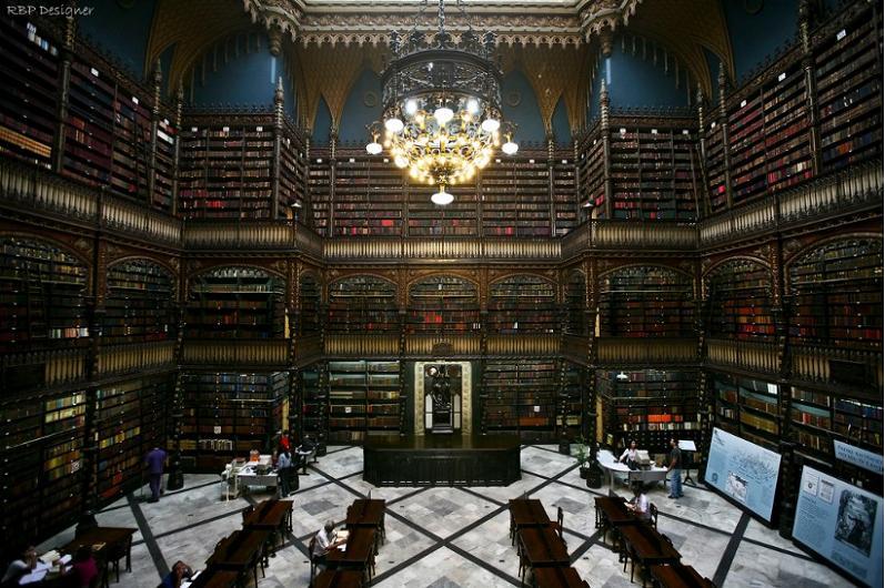 Najlepše biblioteke na svetu Real-gabinete-rio-de-janiero-brazil