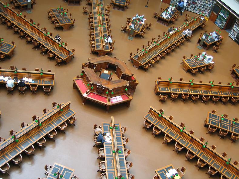 Najlepše biblioteke na svetu State-library-in-victoria-australia