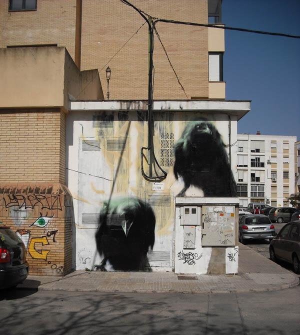 மலைக்கவைக்கின்ற சாலை ஒர சித்திரங்கள்  Mesa-street-art-m-e-s-a-1