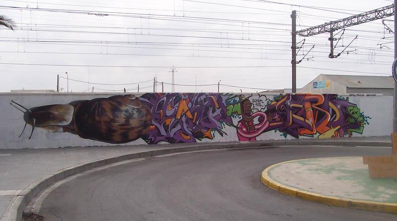 மலைக்கவைக்கின்ற சாலை ஒர சித்திரங்கள்  Mesa-street-art-m-e-s-a-2