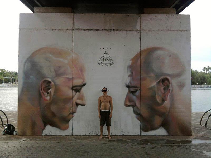 மலைக்கவைக்கின்ற சாலை ஒர சித்திரங்கள்  Mesa-street-art-m-e-s-a-7