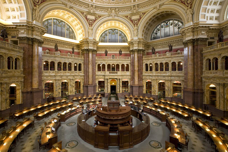 The University of Solar System Studies - Page 29 United-states-library-of-congress-main-reading-room