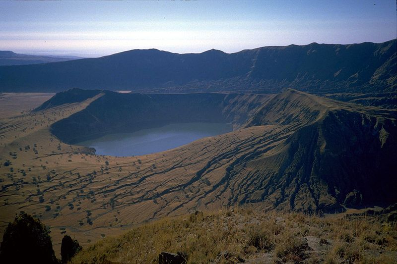 Jezera Sudan_jebel_marra_deriba_crater-lake