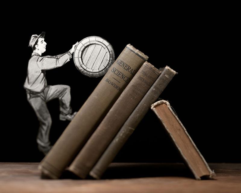 Thomas Allen y los libros pop-up  Thomas-allen-book-art-3