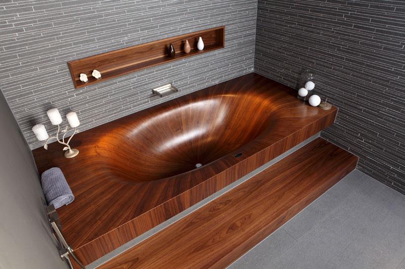 முற்றிலும் மரத்தால் செய்யப்பட்ட அழகிய குளியல் தொட்டிகள்  Wooden-bathtubs-all-wood-baths-by-alegna-4