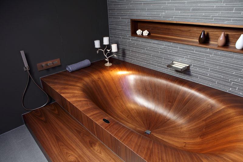 முற்றிலும் மரத்தால் செய்யப்பட்ட அழகிய குளியல் தொட்டிகள்  Wooden-bathtubs-all-wood-baths-by-alegna-5