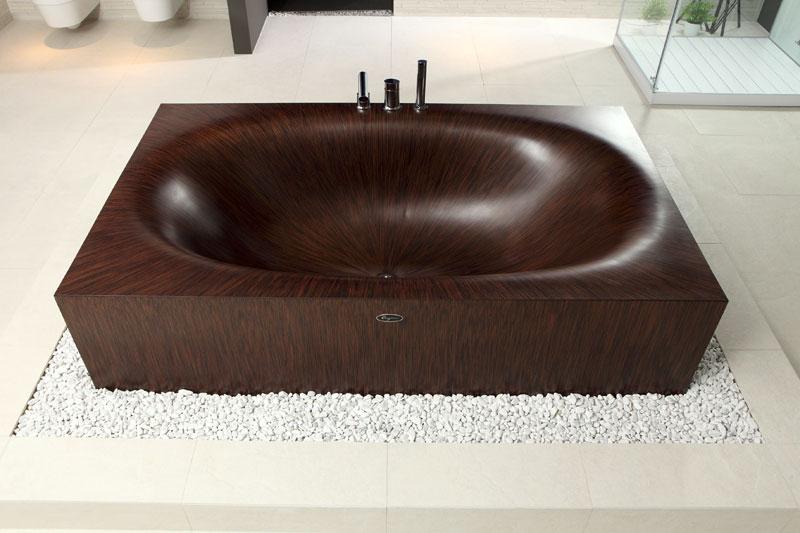 முற்றிலும் மரத்தால் செய்யப்பட்ட அழகிய குளியல் தொட்டிகள்  Wooden-bathtubs-all-wood-baths-by-alegna-8