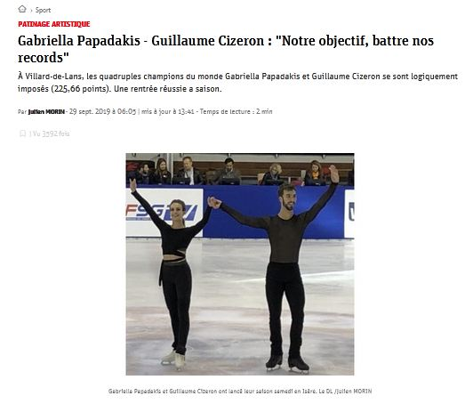Габриэлла Пападакис - Гийом Сизерон / Gabriella PAPADAKIS - Guillaume CIZERON FRA - Страница 30 28