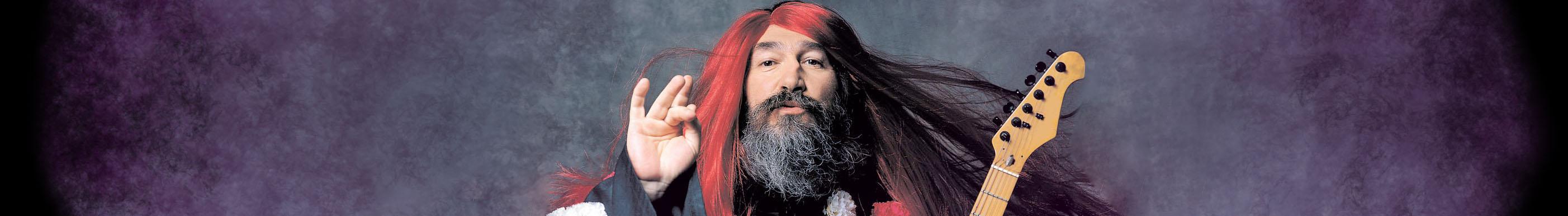 """ΤΖΙΜΗΣ ΠΑΝΟΥΣΗΣ Νέα παράσταση """" HORATORIO ΣΕ RE MIZERO """" Tp_red_hair"""