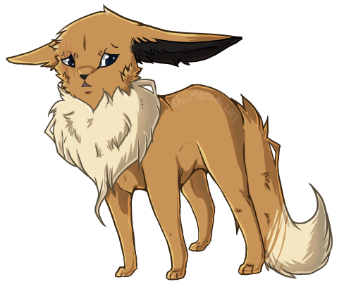 Connor the Eevee and Michael the Growlithe [Hearthome/Ace] ConnortheEevee