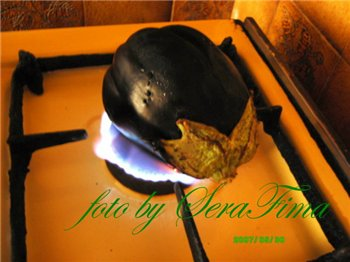 Мтаббаль. Дип из печеного баклажана. Арабская кухня 43b3d157a9cb