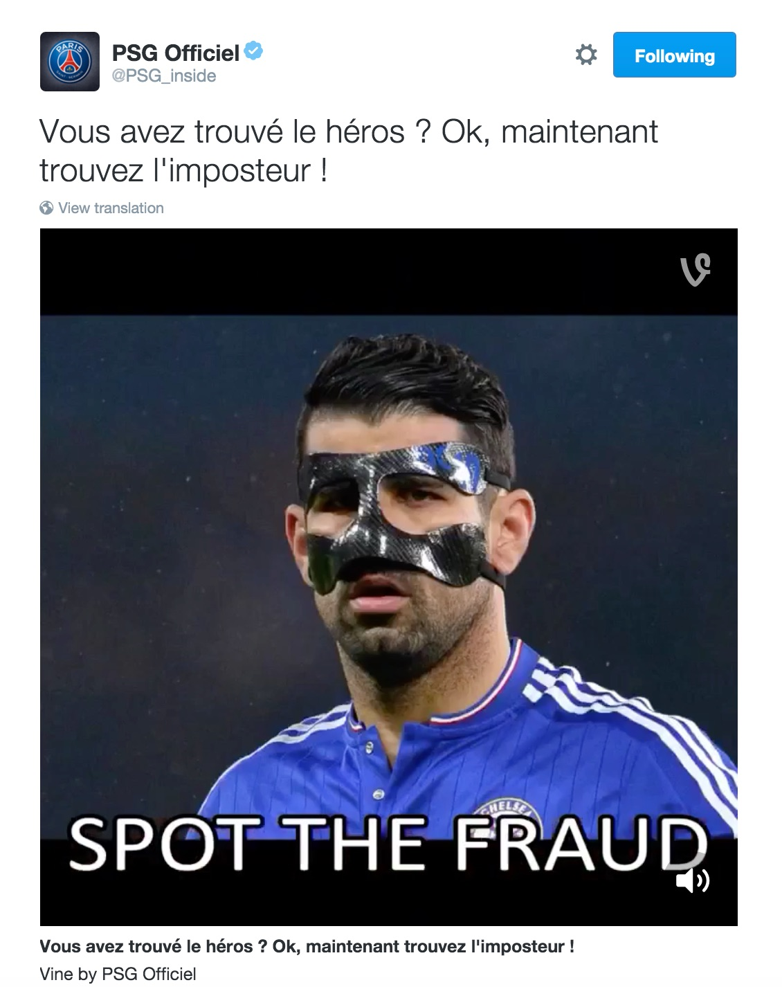 PSG label Costa a 'fraud' ahead of Chelsea clash 2818662