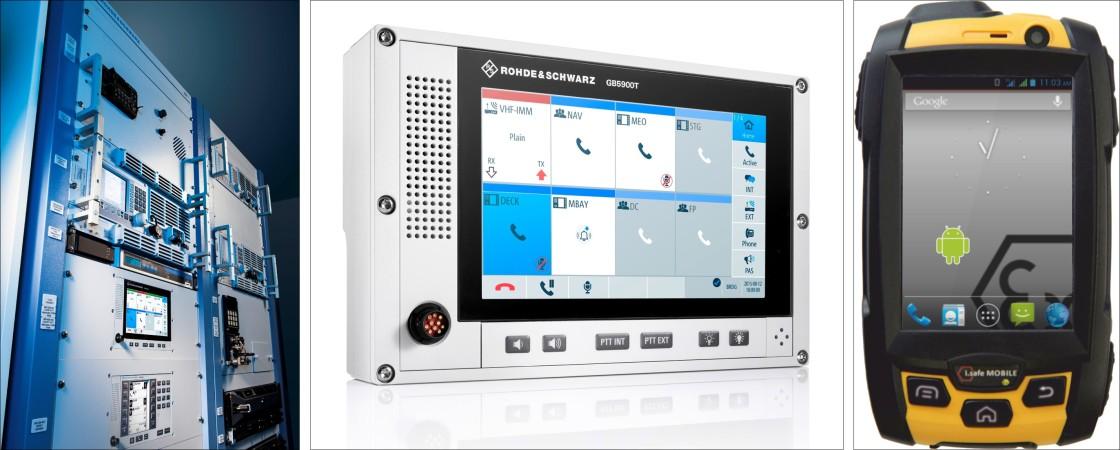 نظام إتصالات بحرية متطور - يتميز بسهولة الحركة على متن السفينة من Rohde & Schwarz Type-26-NAVICS-and-Terminals-1120x450