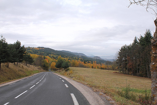 Velay en automne-Vers le Puy (4)