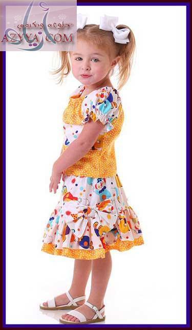 حصريا موديلات اطفال صيف 2012  10011712413344