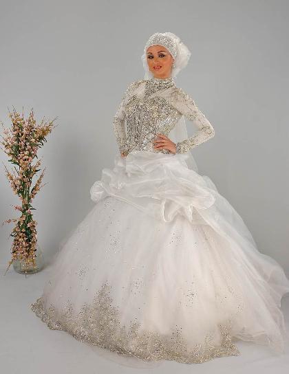فساتين زفاف للمحجبات 1003161949214