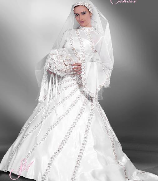 فساتين زفاف للمحجبات 10031619492184