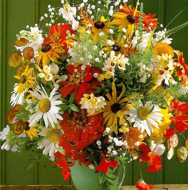 Ольга, с Днем рождения! Flowers7