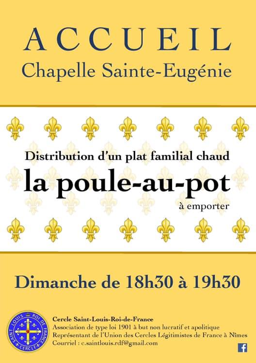 Forum catholique et royaliste de la France chrétienne Poule-Au-Pot