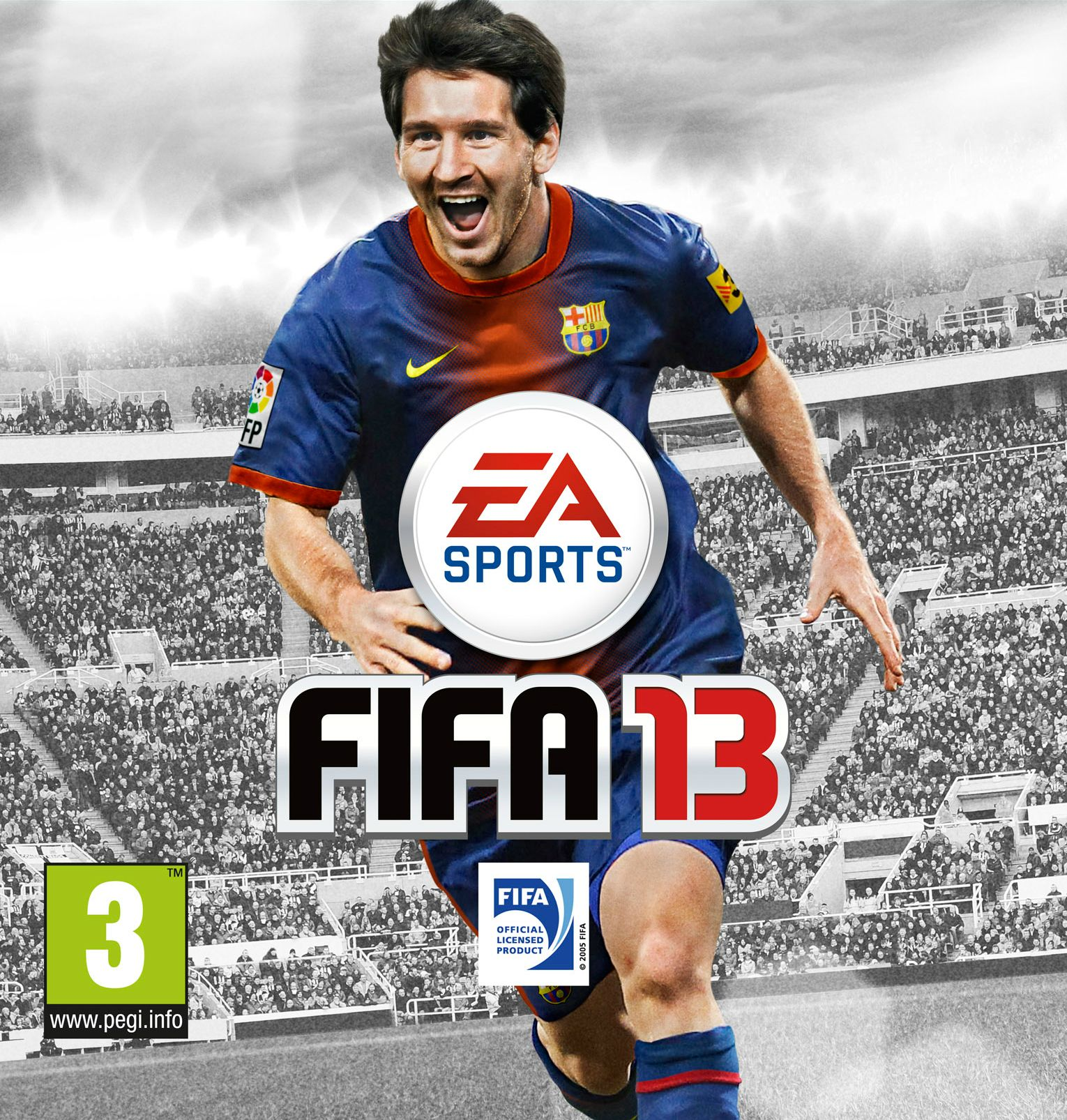 FIFA 13 | E3 First Gameplay Trailer  FIFA-13-Official-Cover