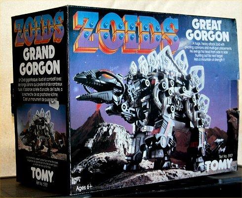 Zoids (Tomy) 1983-1988 OERgorgon