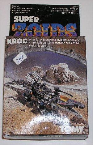 Zoids (Tomy) 1983-1988 OERkroc