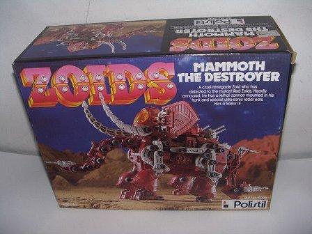 Zoids (Tomy) 1983-1988 OERmammoth