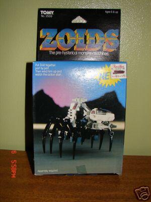 Zoids (Tomy) 1983-1988 OERspider