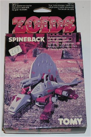 Zoids (Tomy) 1983-1988 OERspineback