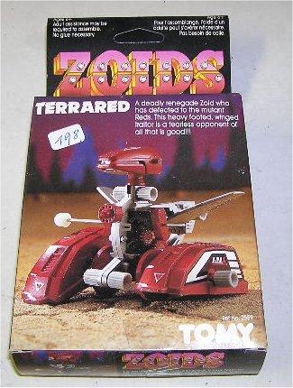 Zoids (Tomy) 1983-1988 OERterrared