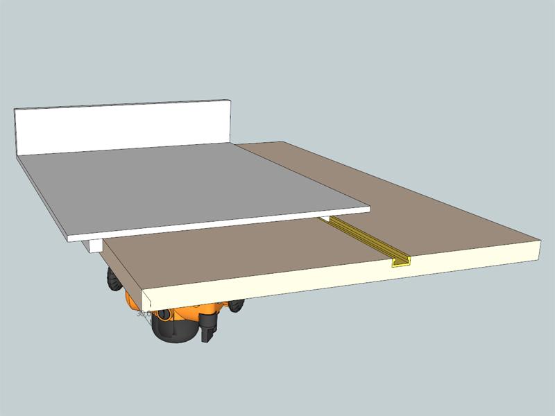 [En cours de réalisation] Défonceuse sous table de DeD. Table_def_003
