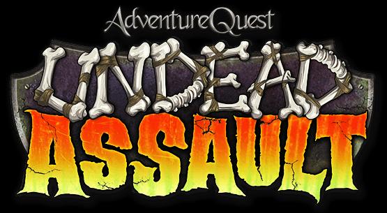AdventureQuest Undead Assault Logo-ua