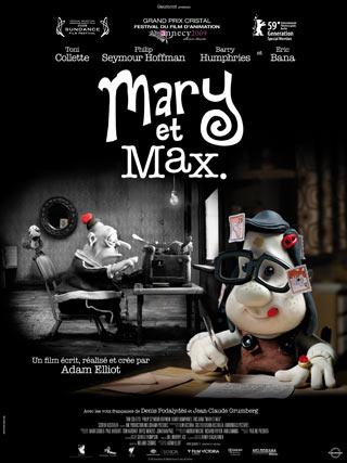 Film sur les zèbres - Page 2 Mary-et-Max-affiche