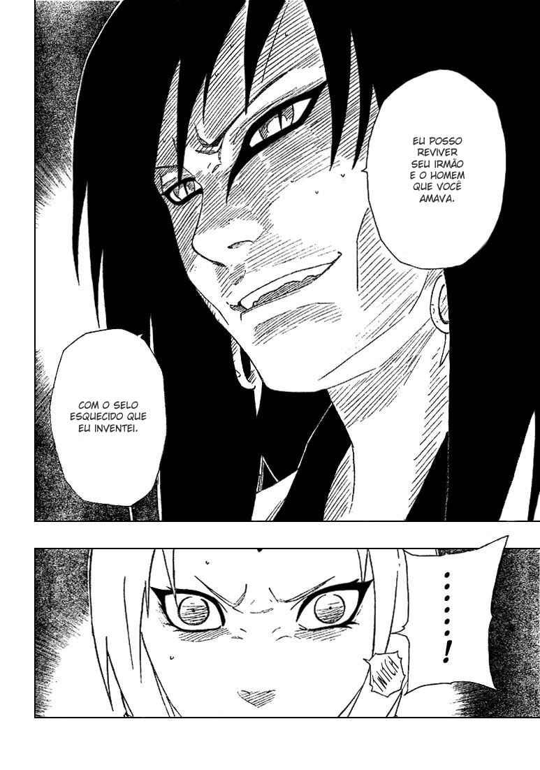 Tsunade poderia curar os braços do Orochimaru? 10