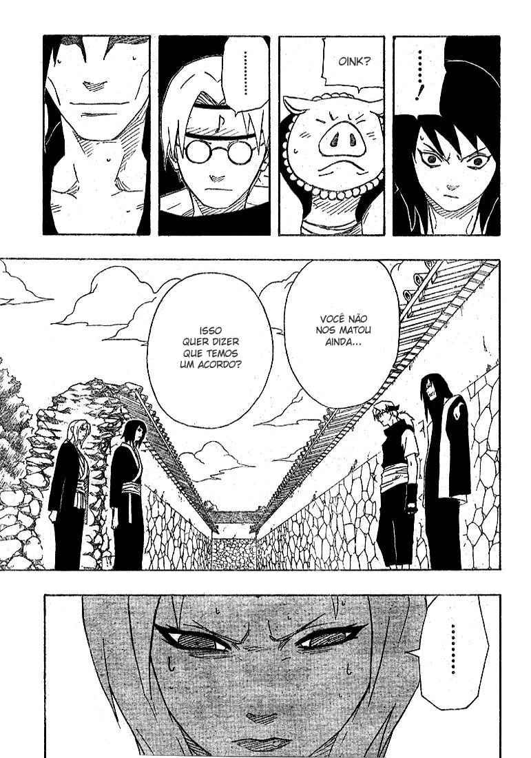 Tsunade poderia curar os braços do Orochimaru? 11