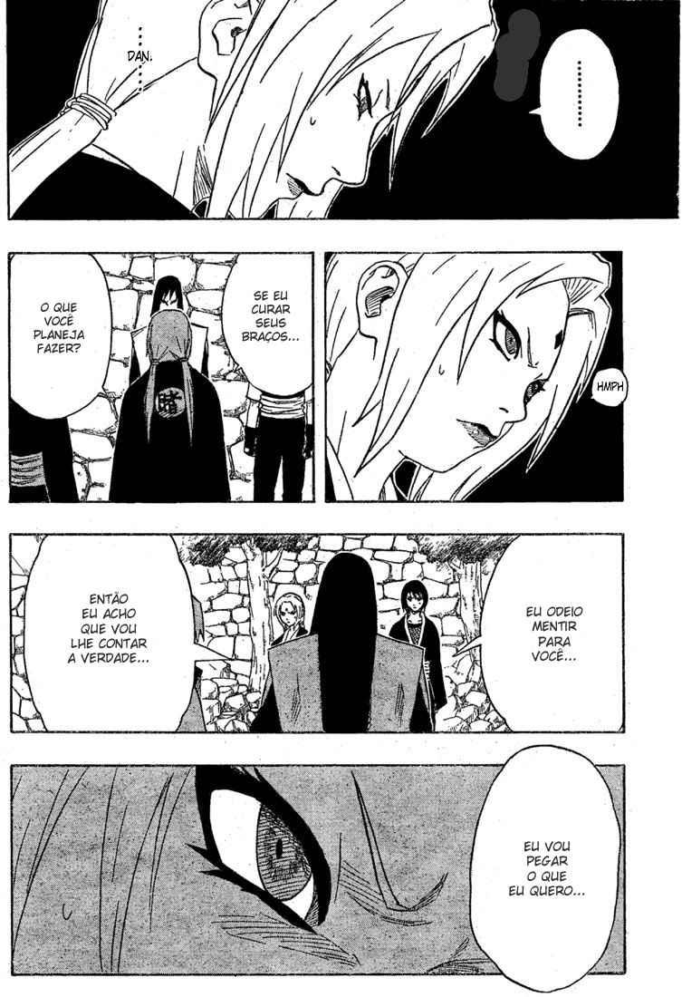 Tsunade poderia curar os braços do Orochimaru? 18