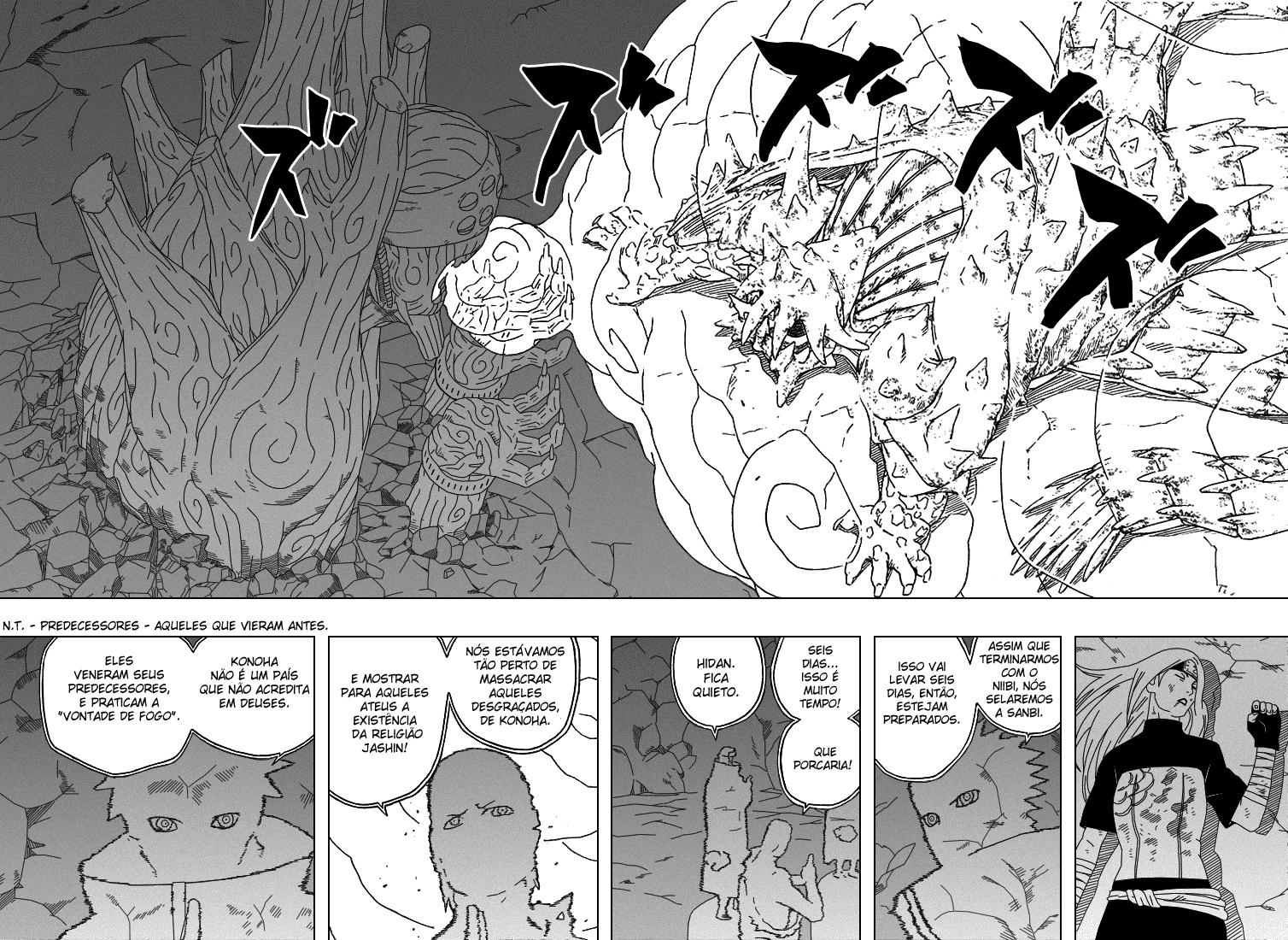 Como o Hashirama lida com o Chibaku Tensei ? - Página 5 08-09