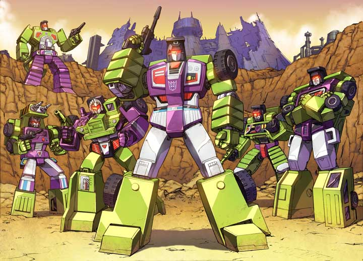 Transformers Constructicons