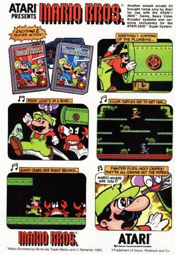 Posters y anuncios de videojuegos clásicos Vintage_video_game_ad_12
