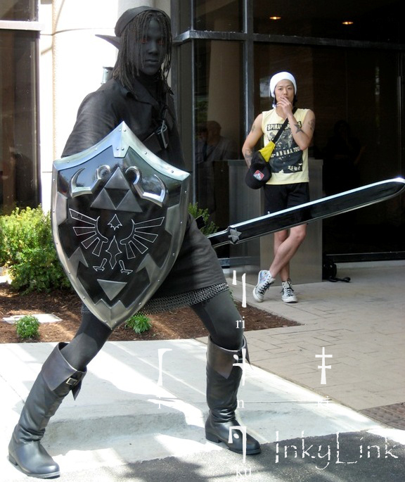 Comic-con i Cosplay Dark-link
